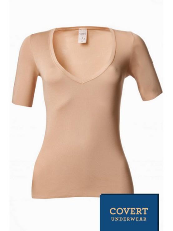 c684c02bd889 Covert Underwear neviditelné tričko ♥ Správná podprsenka
