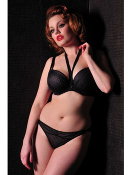 Scantilly All Wrapped Up tanga BLK