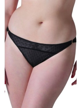 Scantilly All Wrapped Up brief black