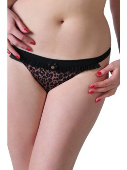 Scantilly Pounce tanga Leopard
