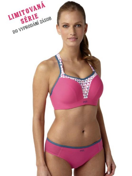 4519234c8 Panache Sport Pink Geo sportovní podprsenka ♥ Správná podprsenka