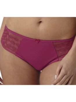 Panache Cari cranberry brief