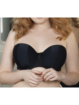 Curvy Kate Luxe strapless black