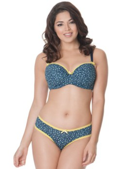 Curvy Kate Daily Dream bluebberry podprsenka