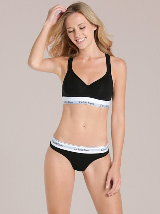 Calvin Klein Bralette černá QF1654E sportovní podprsenka 69c0b80310