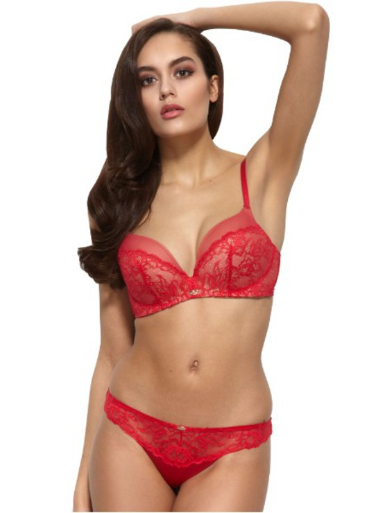 Gossard Glamour Lace Red