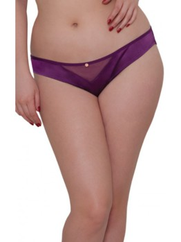 Scantilly Peek A Boo brief violet