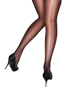 PP Curves Backseam Tights AUN5 BLK