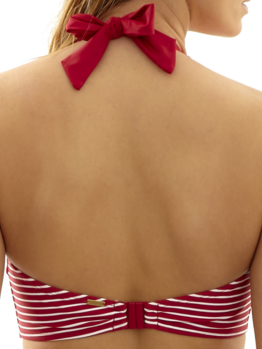 Plavky Panache Britt Stripe Red TOP