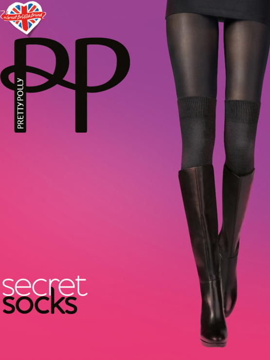 PP Secret Sock Tight PNAUZ3 Black