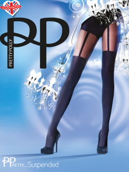 PP Pretty Suspended Tights PNAKQ2 Black