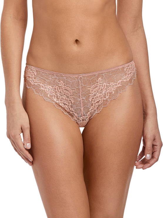 Wacoal Lace Perfection tanga WE135007 Rose Mist